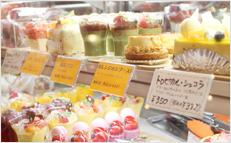 大阪市鶴見区のケーキ&カフェ「パティスリー アンジャルダン」