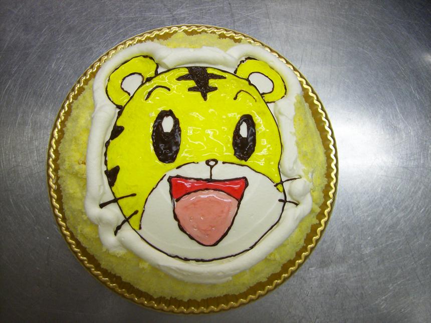 ★キャラクターケーキドーム型(フルーツなし)