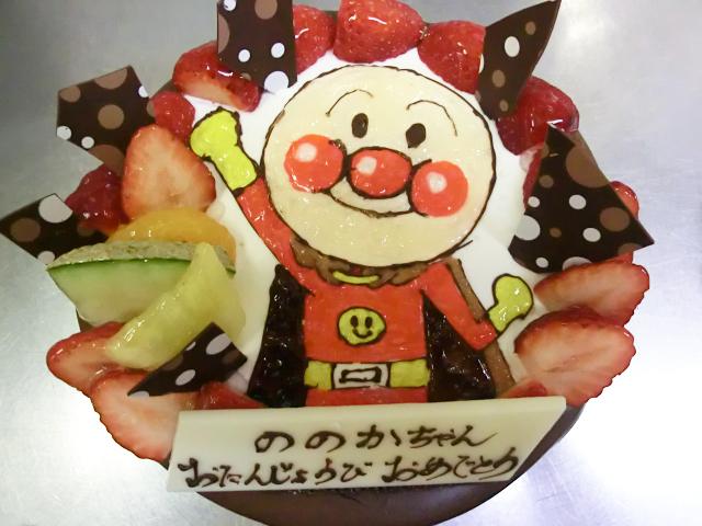 ★キャラクターケーキフルーツあり
